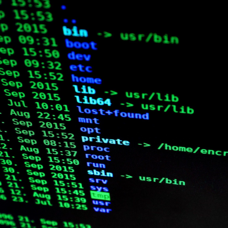 firewall computercodes auf bildschirm