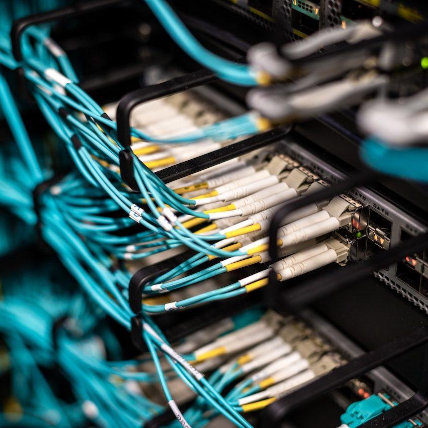 terminalserver kabel stecken im server